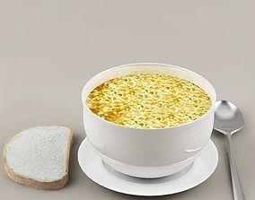 3D model Soup 02