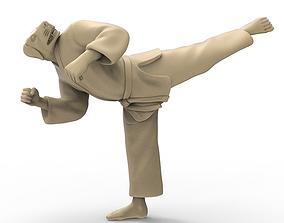 3D print model Dog Back Kick