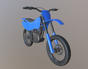 3D asset Dirt Bike
