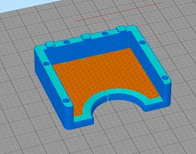 Notiz Zettel Halter-Note Paper Holder 3D printable model