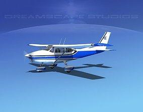3D model Cessna 182 Skylane V07