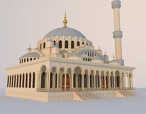 3D model exterior Mosque