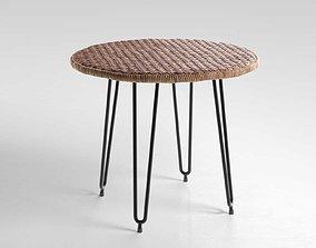 3D Wicker Table