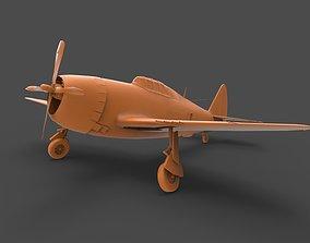 3D printable model P-47 Thunderbolt US