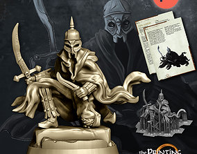 3D print model Dark Assassin - Presupported