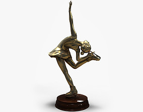 3D Models Figure Skating Statue