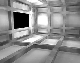 Area light setup sample scene 3D