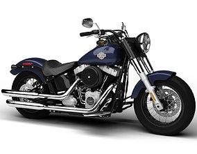 3D model Harley-Davidson FLS Softail Slim 2015