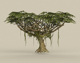 Game Ready Tree 22 3D asset