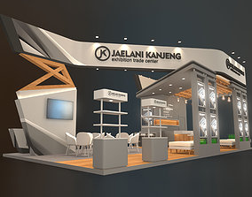 3D EXHIBITION STAND BNT 72 sqm