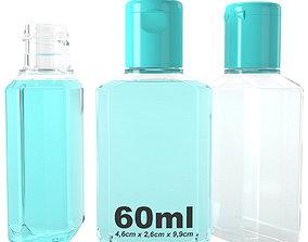 hand gel type3 3D model