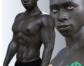 3D Baako for Genesis 3 Male