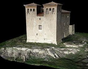 Montcortes Castle Scan 3D model
