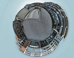 3D asset 5 Exterior Panoramas 360x180 V2