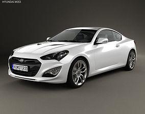 Hyundai Genesis coupe 2012 3D