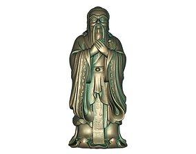 Confucius 3D print model