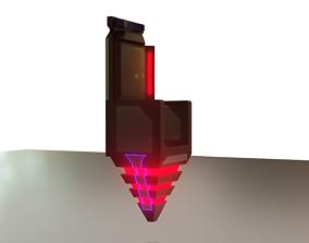 Sci-fi chair 3D model