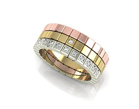 Copy ring of Chopard 3D