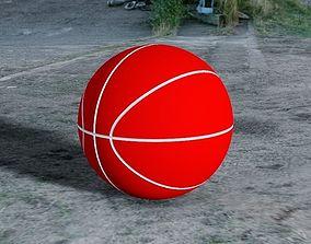 Basketball 3D print model