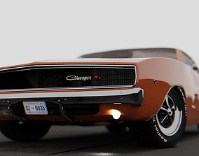 3D Dodge Charger 1968
