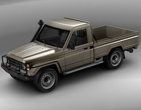 3D model Toyota Landcruiser 79-series Truck