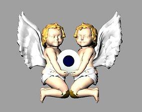 Angel Baby 3d Model