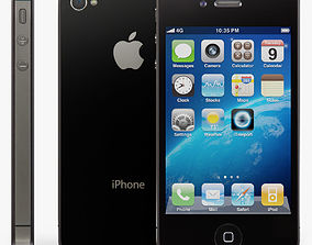 Apple iPhone 4S 3D asset