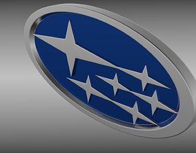 3D Subaru logo