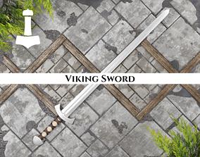 Ancient Viking Sword 3D model