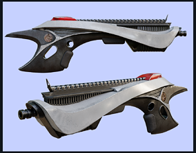 Sci-Fi style Weapon 3D asset