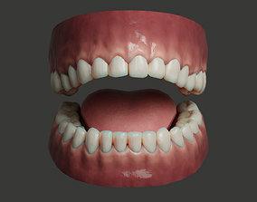 Human Teeth Rigged 3D model VR / AR ready