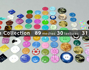 Button Collection 3D model