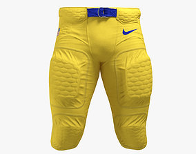 3D American Football Player Pants Uniform