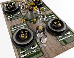 Table serving 2 3D model