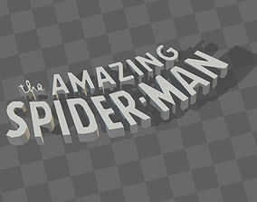 THE AMAZING SPIDERMAN LOGO 3d PRINTABLE