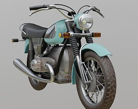 3D model BMW r75 motocycle