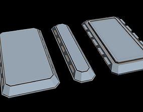 3D model Starship part 12