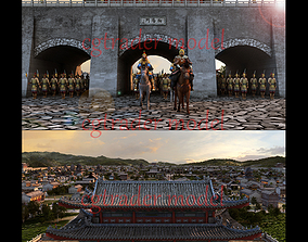 east ancient city 3D