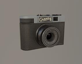 Photo camera Smena 3D asset VR / AR ready