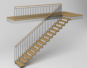 3D model Stair - Modern Stairs