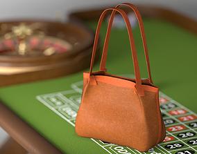 Serapian Small secret Tote Bag leather 3D