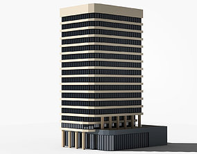 3D model VR / AR ready Office building