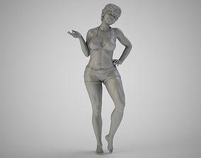3D printable model Genial Girl