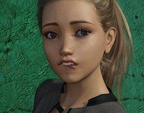 3D Teen Girl