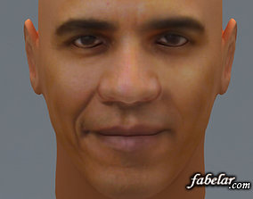 Barak Obama 3D model