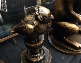Sculpture Chizhik-Pyzhik Saint-Petersburg 3D print model 1