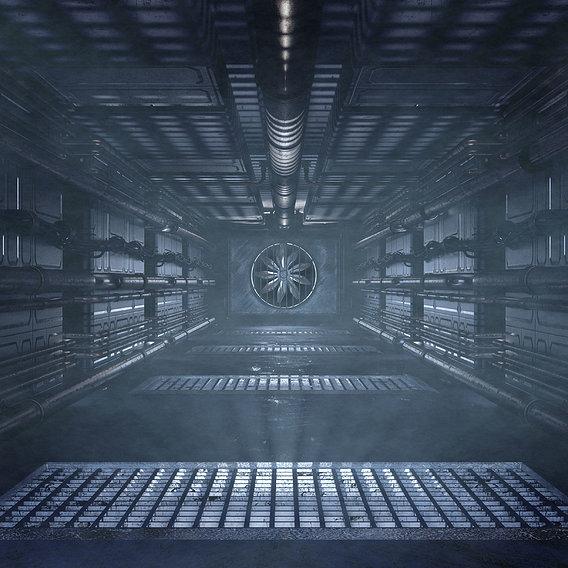 Sci Fi Crawl Space/Access Tunnel