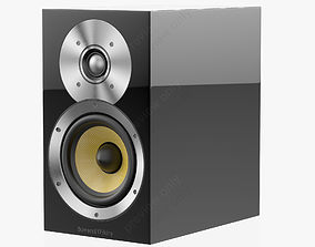 Bowers and Wilkins CM 1 Black Gloss 3D model