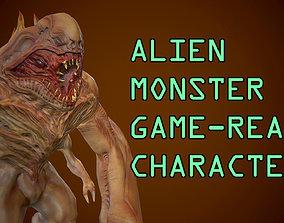 3D model Alien Monster Game Ready Character