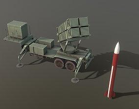 MIM-104 Patriot M903 Launcher Trailer 3D asset